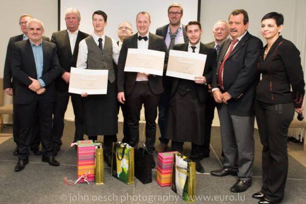 Meilleur sommelier de Luxembourg 2015