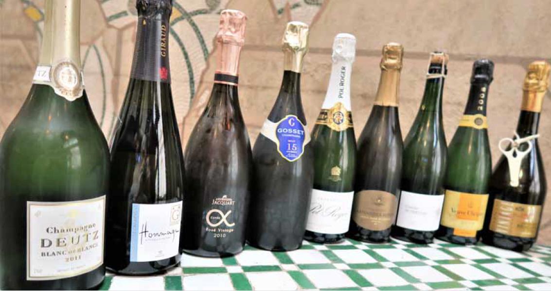 Champagne : Les cuvées de prestige